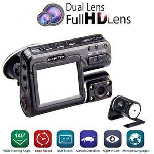 BOITE NOIRE VIDÉO Dual Lens DVR caméra enregistreur i1000 Dash Cam b