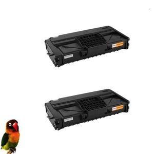 TONER pack 2 toner compatibles pour Ricoh SP200 SP201 SP