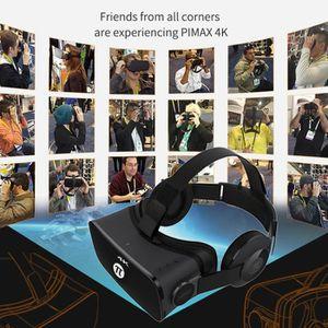 CASQUE RÉALITÉ VIRTUELLE 4K VR Casque Rétroviseur virtuel Lunettes Basse Pe