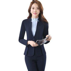 sélectionner pour le dédouanement haut de gamme pas cher style distinctif Tailleur femme veste et pantalon