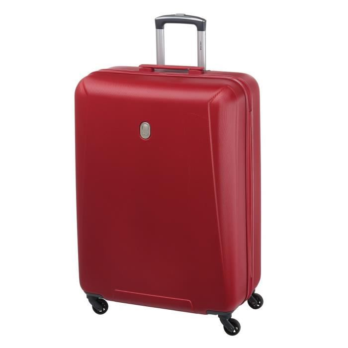 Valise - 76 cm - 4 Roues - Rouge