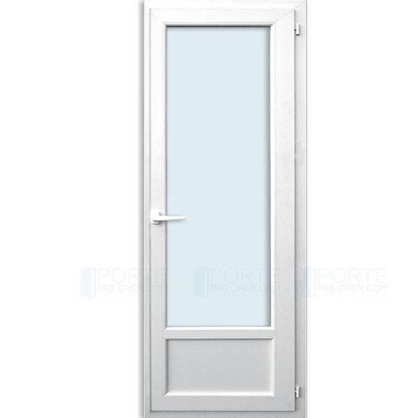 Porte fenêtre 1 vantail oscillo-battant L800 x H2150 mm ...