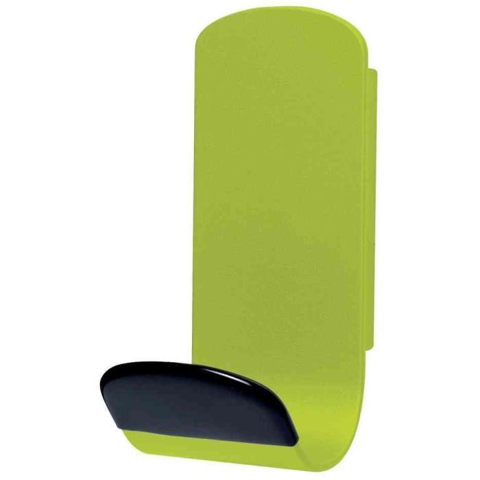patère magnétique steely 381 capacité 12 kg vert - achat / vente