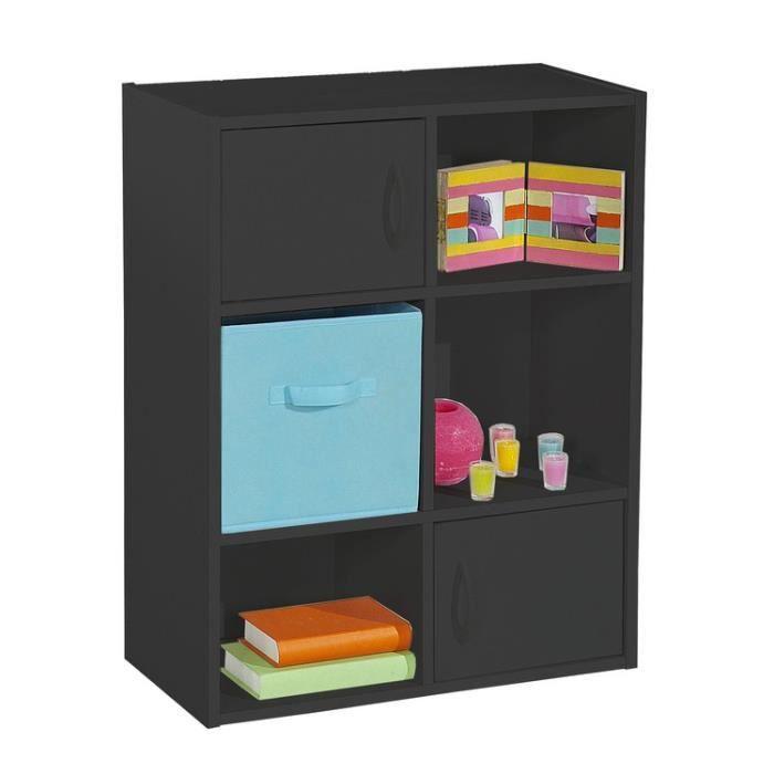 cube etagere bois achat vente pas cher. Black Bedroom Furniture Sets. Home Design Ideas