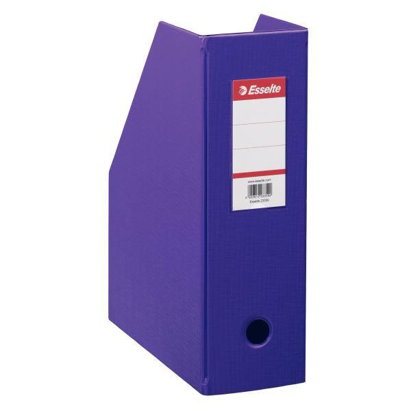 1x boîte de classement pvc, violet, format a4 max - achat / vente