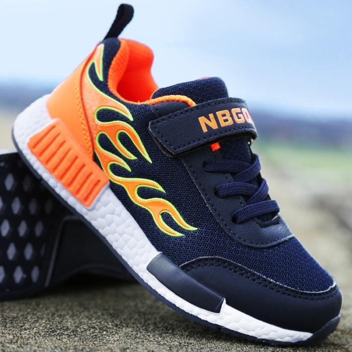Basket Chaussures Mode enfants Chaussures De Sport Printemps et automne casual chaussures garçons et filles Chaussures de course hNacpk