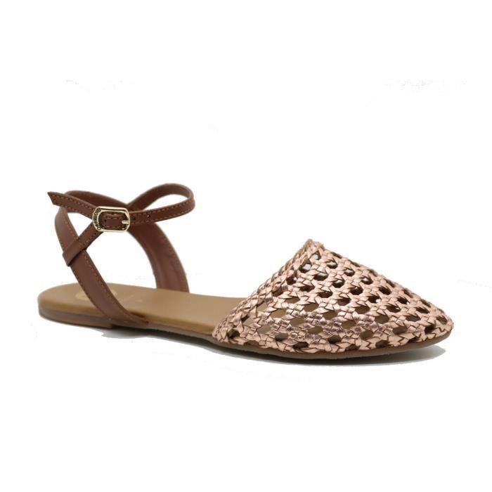 Femme - SANDALE PLAT - Gioseppo - GIOSEPPO ALDA 40545R - (35)