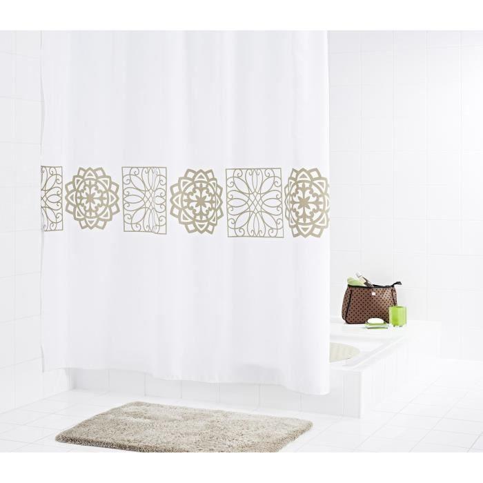 RIDDER Rideaux de douche textile - Tunis - Achat / Vente rideau de ...
