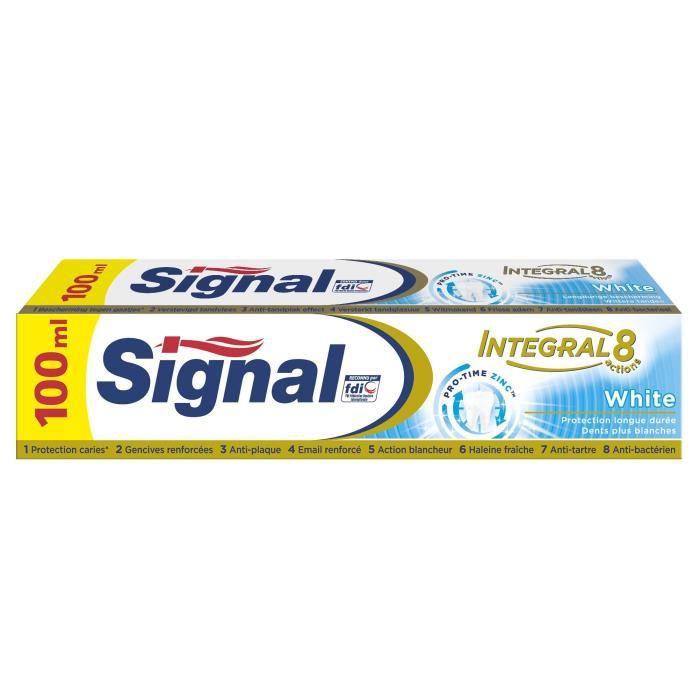 SIGNAL Dentifrice intégral White - 100 mL