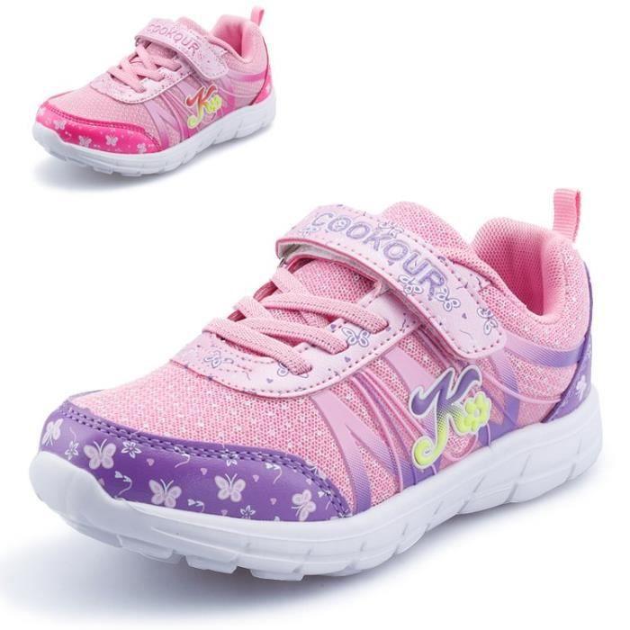 Chaussures de mode pour filles Chaussures décontractées respirantes Chaussures princesse