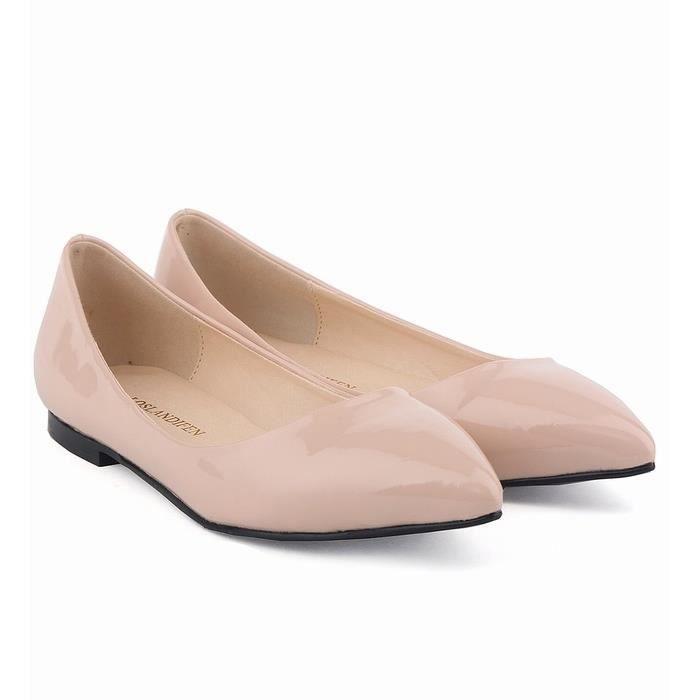 chaussures femmes mode flats chaussures de sport quotidienne des femmes travaillent chaussures pointues appartements orteil plates RyGT9