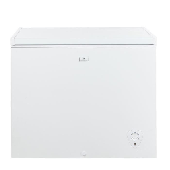 Continental Edison CECC205AP - Congélateur coffre - 205L - Froid statique - A+ - L 95cm x H 82,5cm - Blanc
