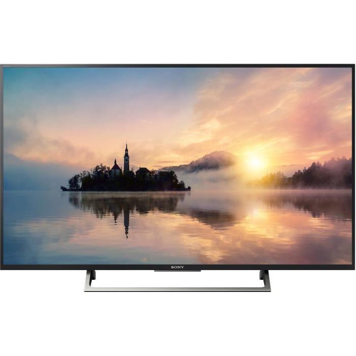 SONY KD55XE7005BAEP TV LED 4K HDR 139 cm (55'') - Smart TV - 3 X HDMI - Classe énergétique A+