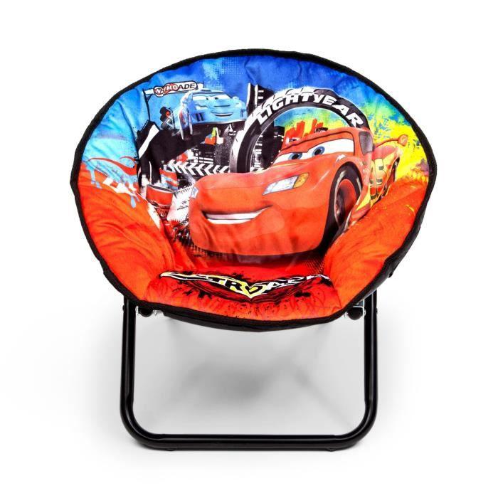 Chaise Lune pour enfants Cars - Garçon - A partir de 3 ans - Livré à l'unitéFAUTEUIL BEBE - CANAPE BEBE