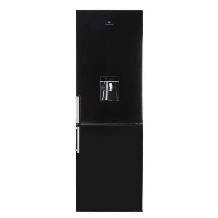 Congélateur bas - 325L (221+104) - Froid statique - A+ - Distributeur d'eau - L 59,5cm x H 185cm - Noir MatREFRIGERATEUR CLASSIQUE