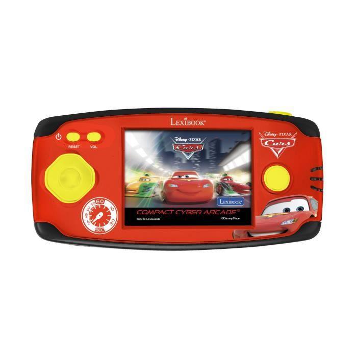 CARS - Console de Jeu Enfant avec 150 Jeux