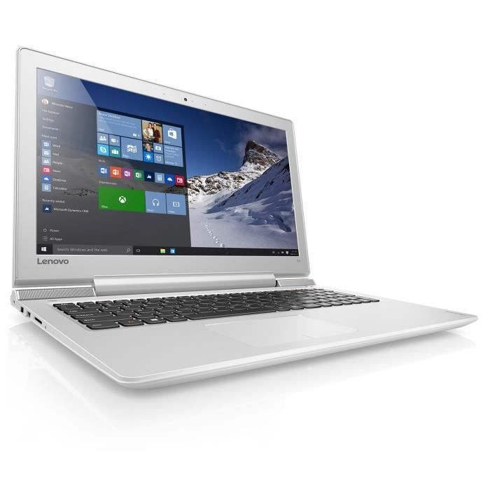 Lenovo PC Portable - Ideapad 700-15ISK- 15'6 -RAM 4Go - Windows 10 -Intel Core i5 6300HQ - GeForce GTX 950 M- Stockage 128Go SSD