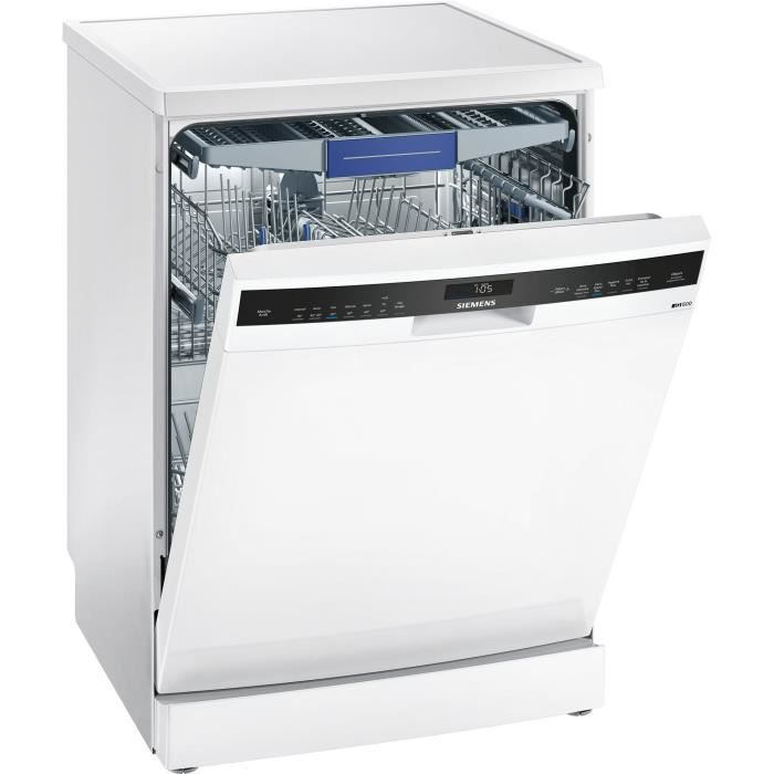SIEMENS SN256W05MF - Lave vaisselle pose libre - 14 couverts - Ultra silencieux 38 dB - A+ - Larg 60