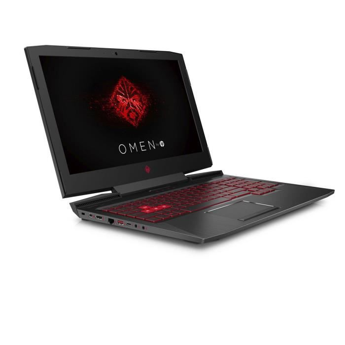 Hp omen pc portable gamer 15ce015nf 15.6 nvidia gtx 1060 ram 16go intel core i5 7300 stockage 1 to hdd 128 go ssd