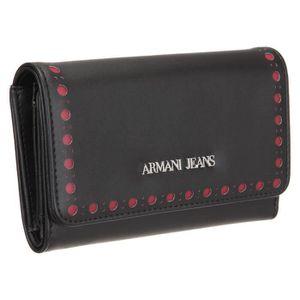 ARMANI JEANS Portefeuille 928085-6A715 Noir Femme