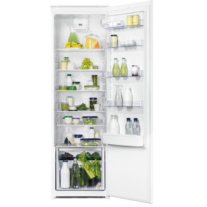 FAURE FBA32055SA - Réfrigérateur 1 porte encastrable - 319L - Froid statique - A+ - L 54cm x H 177,2