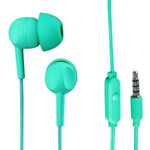 THOMSON EAR 3005 Ecouteurs stéréo intra-auriculaires avec microphone Turquoise