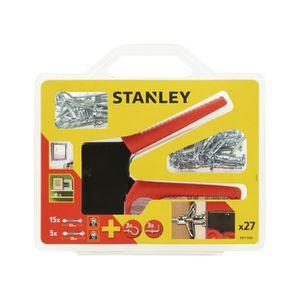 STANLEY Kit de chevilles, outil de pose et accessoires STF71925-XJ