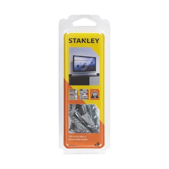 STANLEY Kit murs pleins prêt à installer pour écran plat STF78105-XJ