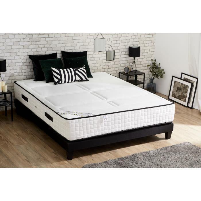 Confort Design Ensemble Matelas Sommier 160x200 792 Ressorts