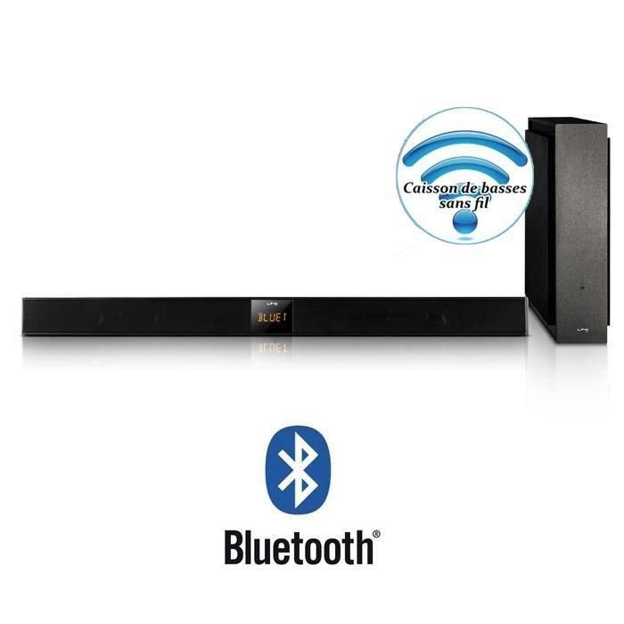 ltca soundbar5 bk barre de son avec caisson de basses sans fil 120w barre de son avis et. Black Bedroom Furniture Sets. Home Design Ideas