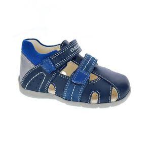 90a6ba834ff1a CHAUSSON - PANTOUFLE GEOX Chaussures Premier Pas Bleu Marine Bébé Garço ...