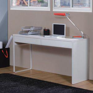 Meubles bureau achat vente meubles bureau pas cher - Bureau blanc laque ikea ...