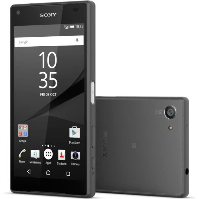 SMARTPHONE Sony Xperia Z5 Compact Noir