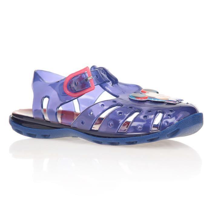 SANDALE - NU-PIEDS MICKEY Sandales de Plage Violet Imprimé Enfant Gar