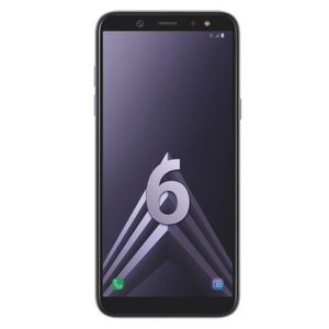 SMARTPHONE Samsung Galaxy A6 Bleu argenté