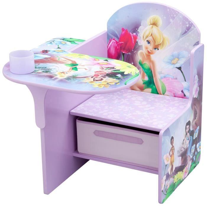 clochette les f es chaise bureau enfant achat vente bureau b b enfant cdiscount. Black Bedroom Furniture Sets. Home Design Ideas