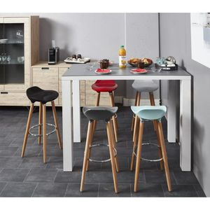 tabouret de bar achat vente tabouret haut pas cher cdiscount. Black Bedroom Furniture Sets. Home Design Ideas