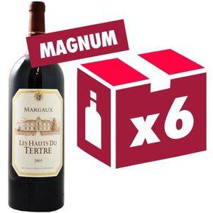 VIN ROUGE Magnum Les Hauts du Tertre Margaux Second Vin d...