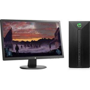 UNITÉ CENTRALE + ÉCRAN HP PC de Bureau Pavilion 580155nf - RAM 8Go - Core