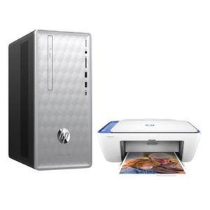 UNITÉ CENTRALE  HP PC de Bureau Pavilion 590-p0015nf- Core i5-8400
