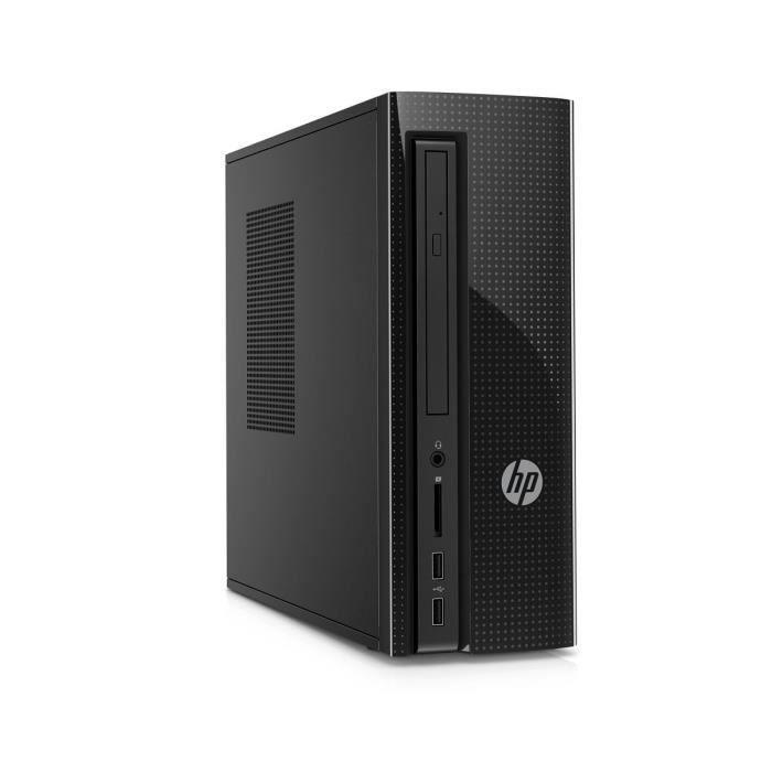 UNITÉ CENTRALE  HP PC BUREAU - 260a105nf - 4 Go de RAM - Windows 1