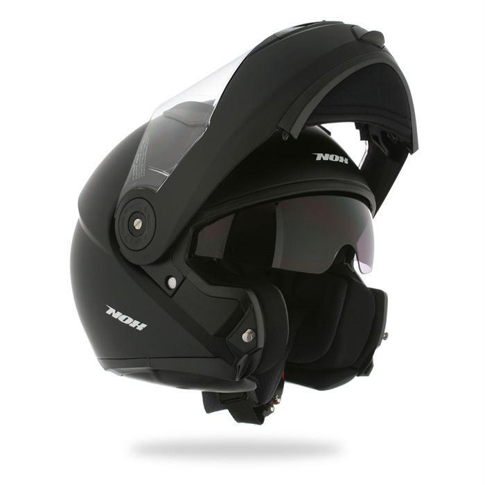 nox casque modulable n955 noir mat achat vente casque moto scooter nox casque modulable n955. Black Bedroom Furniture Sets. Home Design Ideas