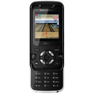 Téléphone portable Sony Ericsson F305 Mystic Black