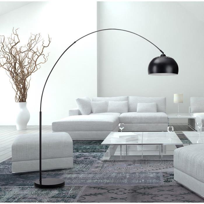 bigarc lampadaire arc noir hauteur 2 02m 5 Meilleur De Lampadaire Salon Arc Kdj5