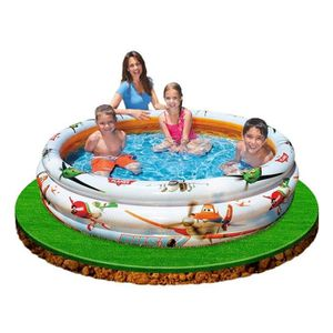 PATAUGEOIRE PLANES Piscine gonflable 3 boudins