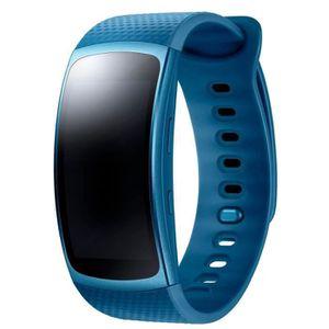 MONTRE CONNECTÉE Samsung Bracelet Gear fit 2 Bleu Small