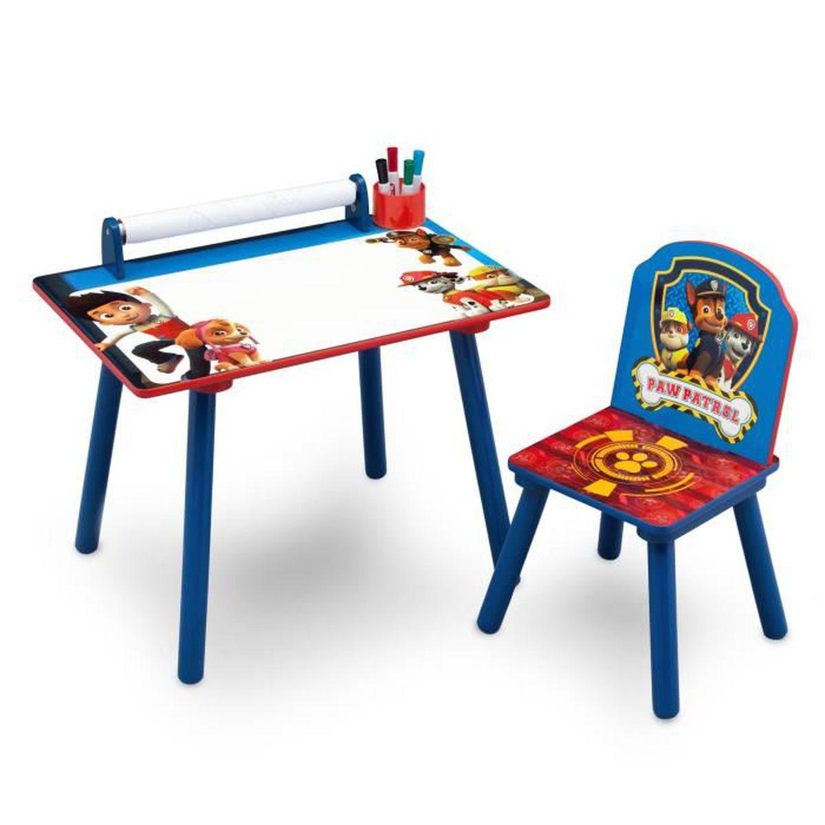 Table a dessin pat patrouille achat vente jeux et jouets pas chers - Coffre de rangement pat patrouille ...