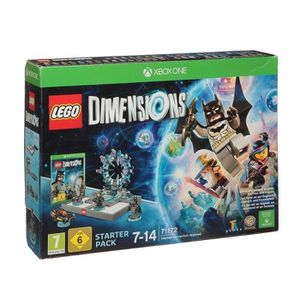 JEUX XBOX ONE LEGO Dimension Starter Pack Xbox One