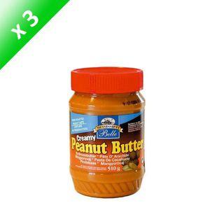 PÂTE À TARTINER MISSISSIPPI  BELLE  Beurre de cacahuètes Creamy x3
