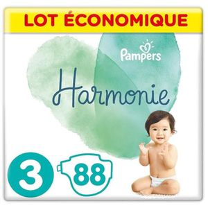 COUCHE PAMPERS Harmonie Taille3, 6 -10 kg, 88Couches (4